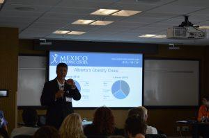 Dr. Ron Elli, Ph.D. in 2016 MBC informational seminar in Edmonton