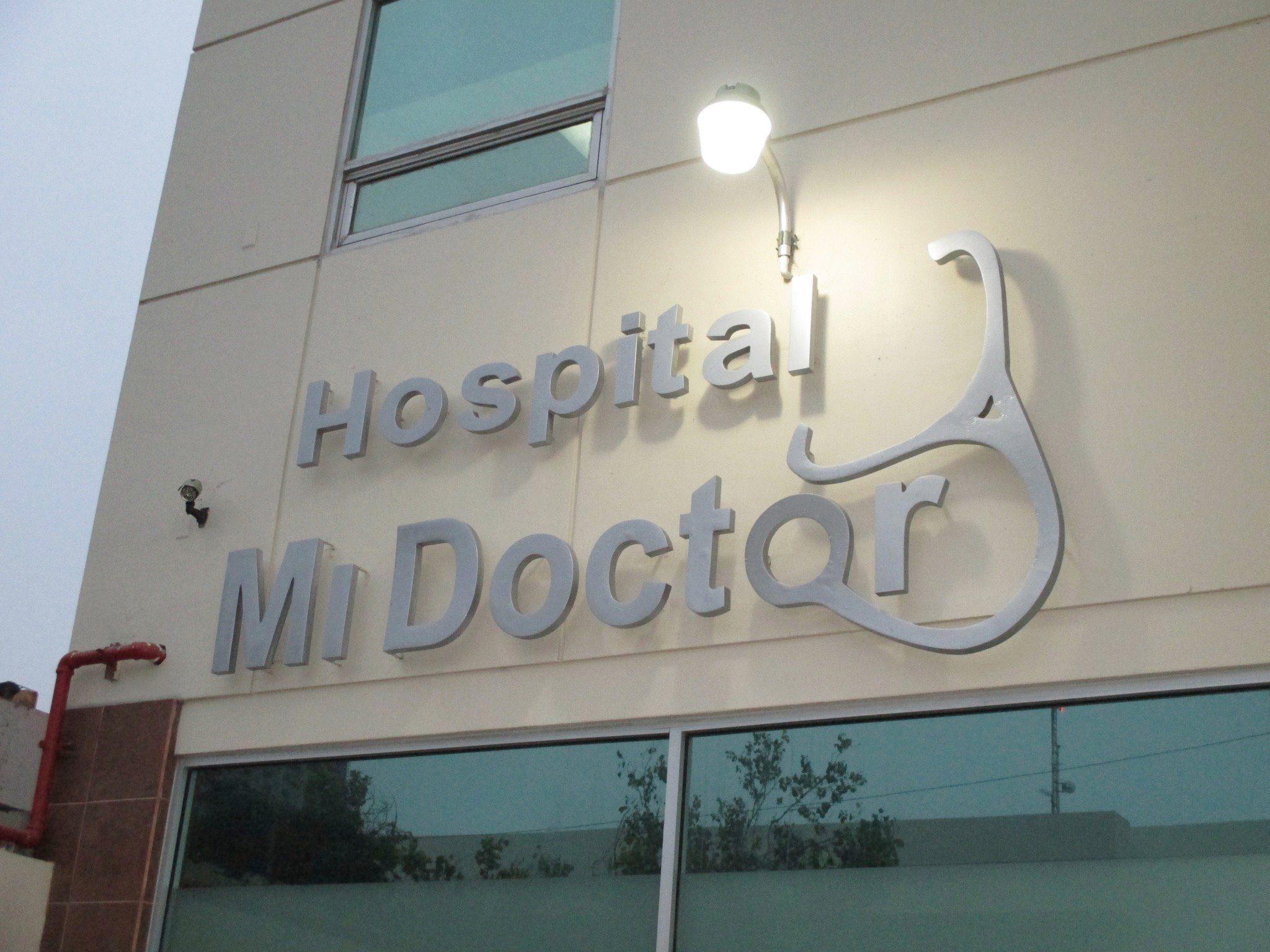 mi doctor hospital sign